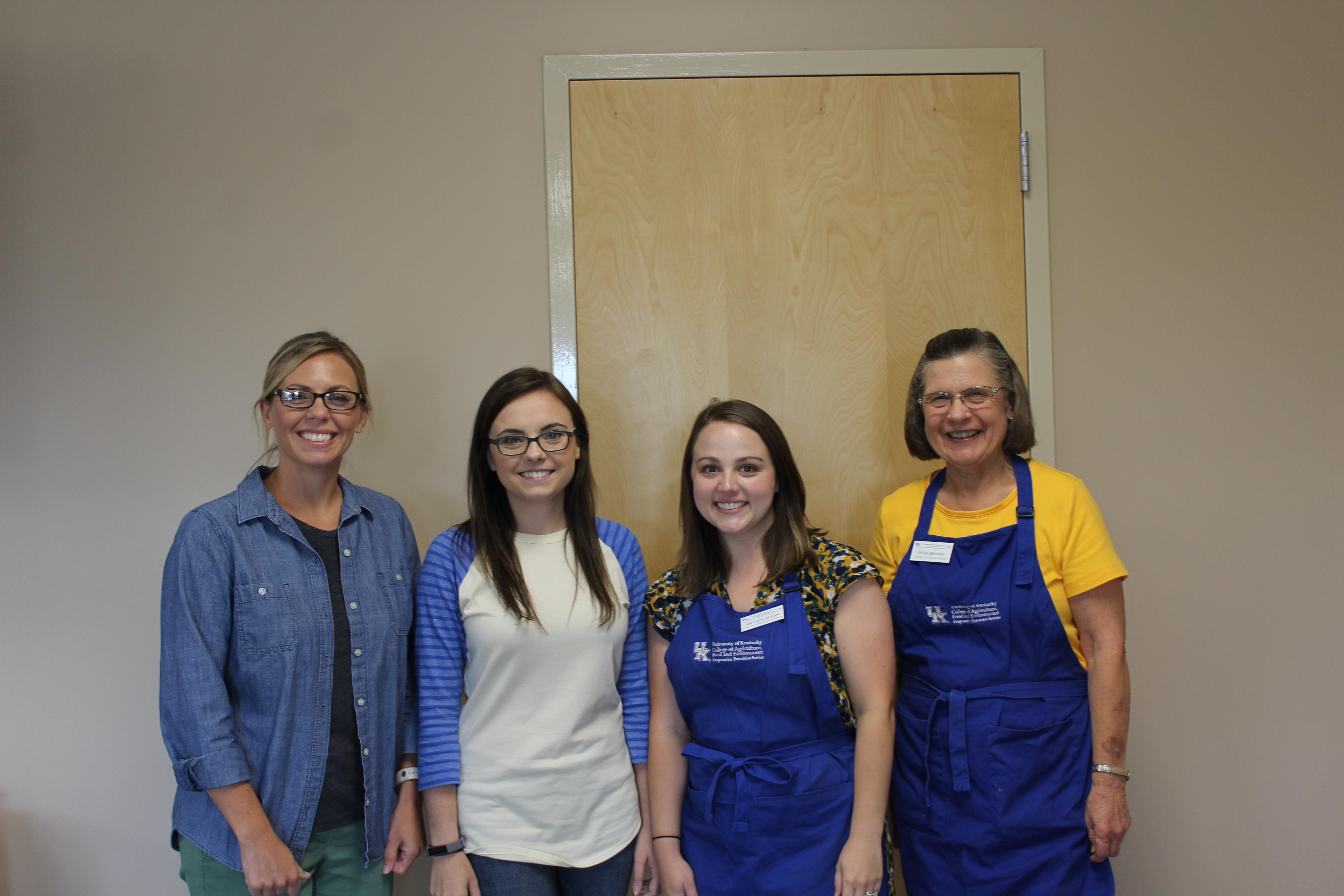 Food Preservation Workshop Photo.