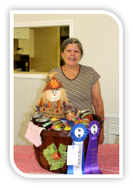 Farm and Home Exhibits Contest Reserved Best of Show.
